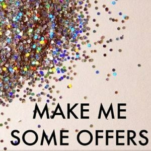 80% of my sales are offers! Make me an offer!